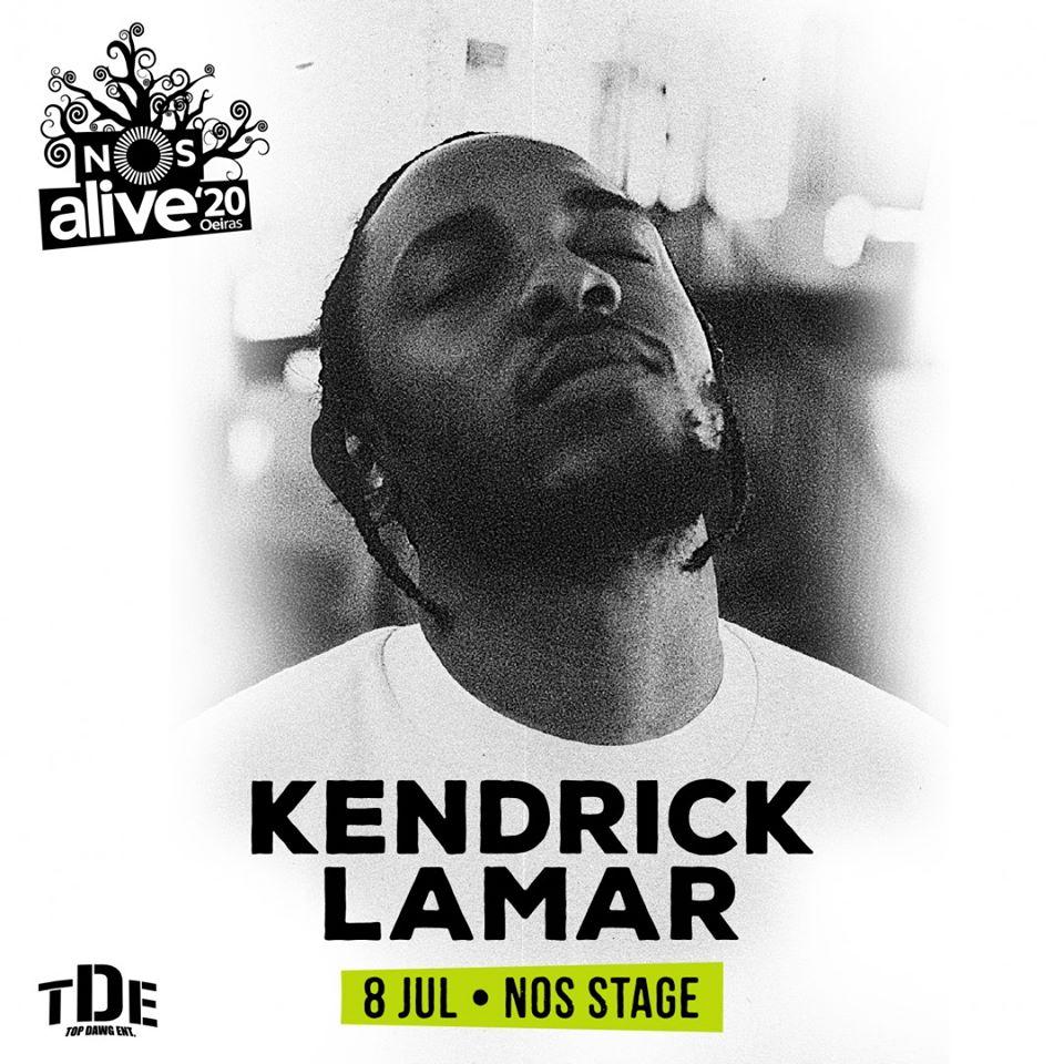 Kendrick Lamar, al NOS Alive 2020