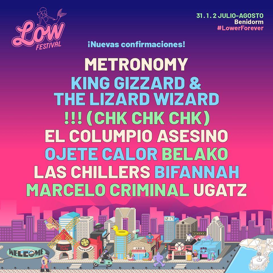 Nuevas confirmaciones del Low Festival 2020
