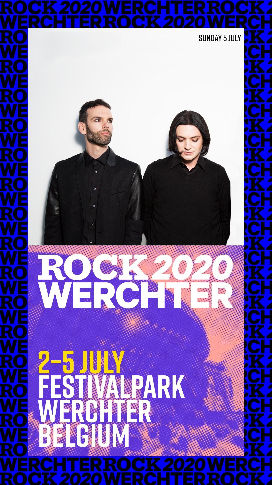 Placebo, al Rock Werchter 2020