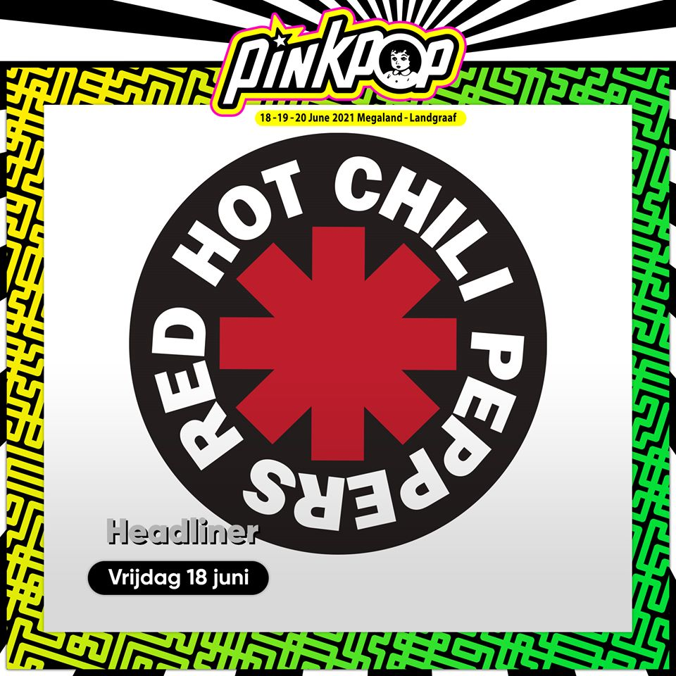 Red Hot Chili Peppers, al Pinkpop 2021