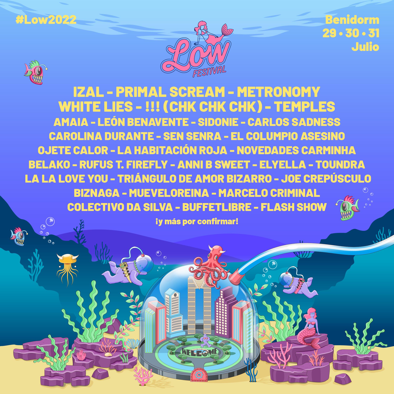 Primer avance de cartel del Low Festival 2022