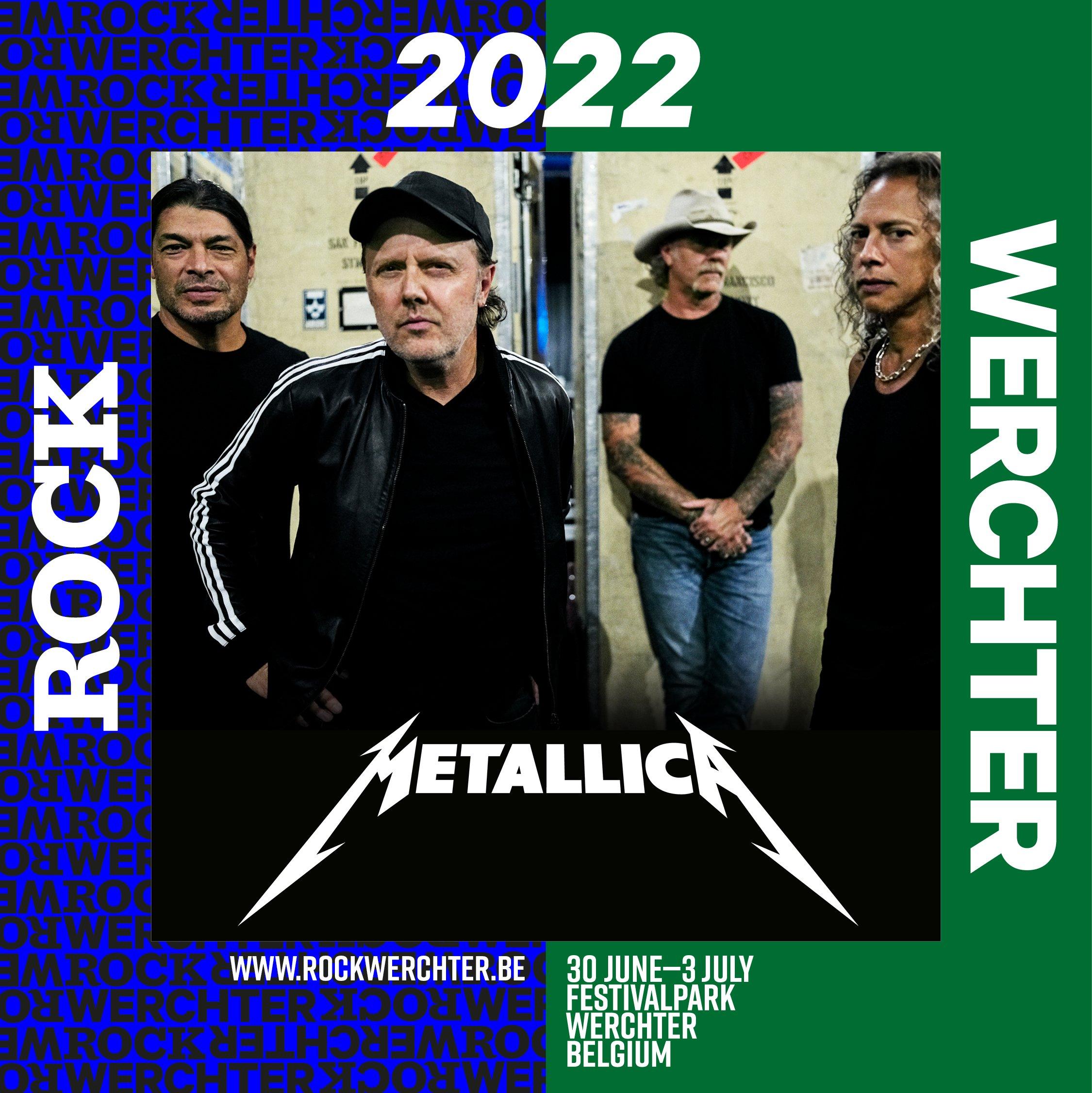 Metallica, al Rock Werchter 2022