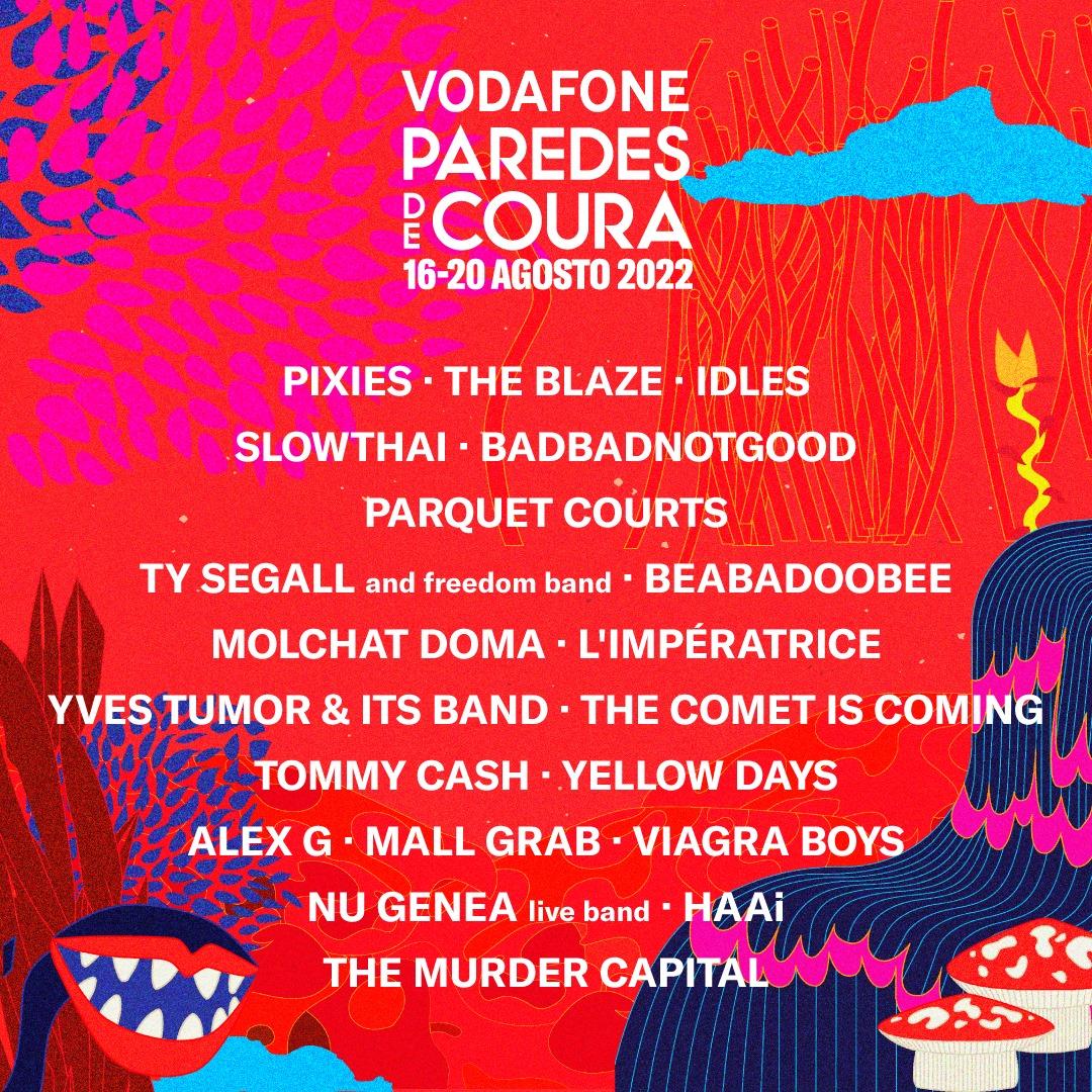 Primeros nombres para el Vodafone Paredes de Coura 2022