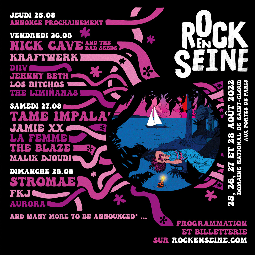 Primeros nombres para el Rock en Seine 2022