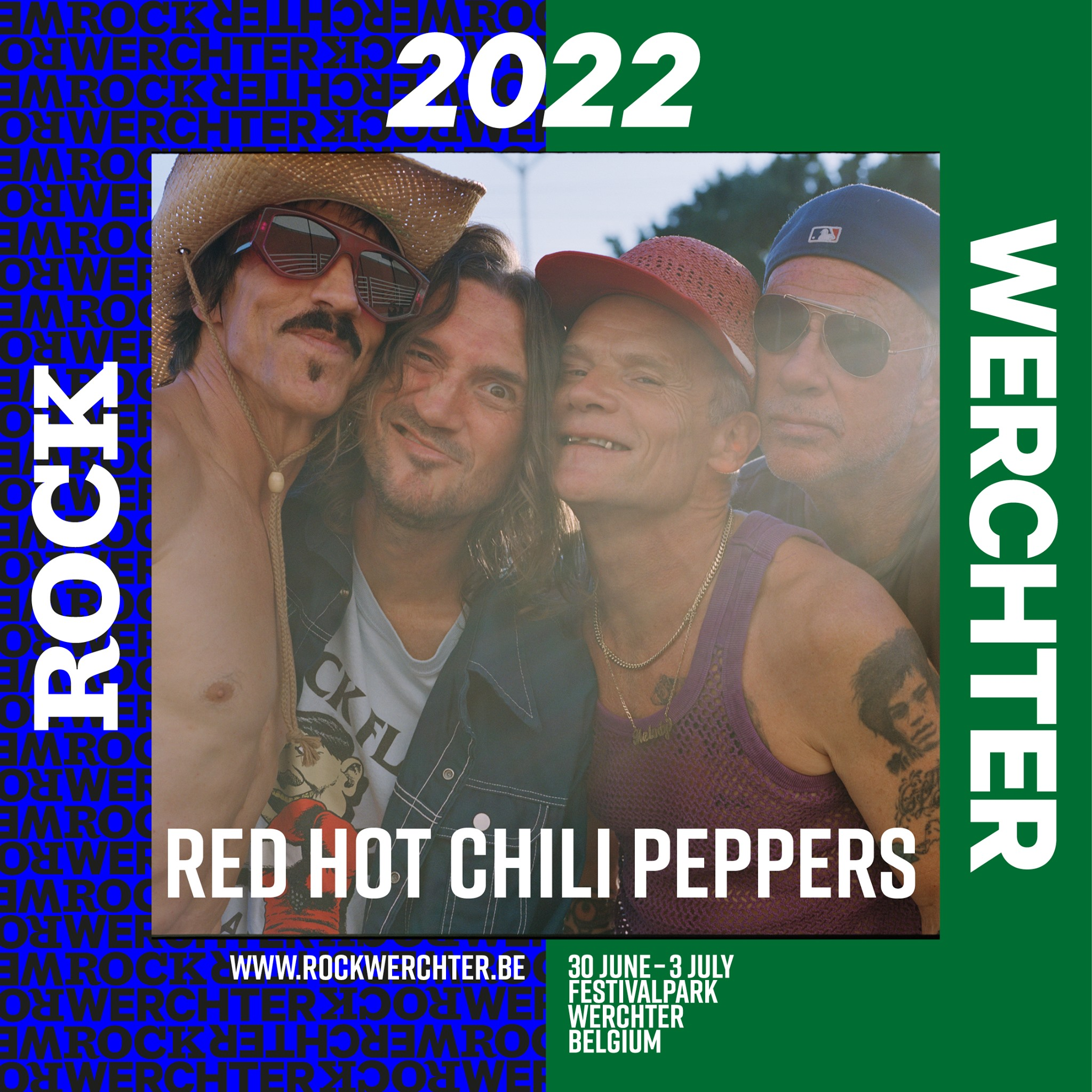 Red Hot Chili Peppers, al Rock Werchter 2022